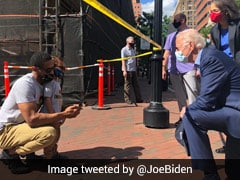 """Nation In Pain"": Joe Biden Visits Scene Of US Anti-Racism Protest"