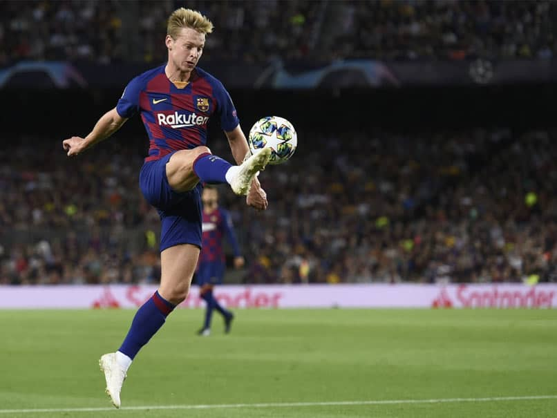 Barcelona Confirm Frenkie De Jongs Injury, No Date Fixed For His Return