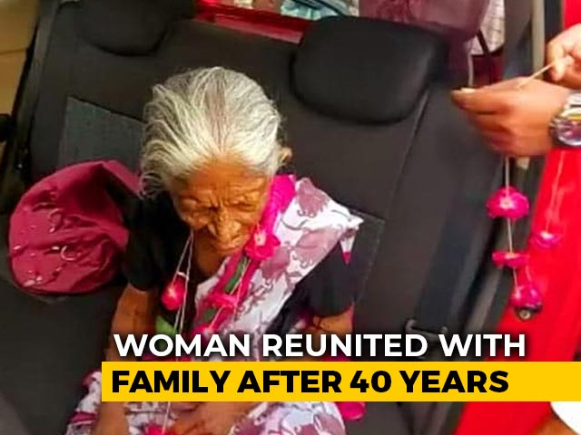 Video : 93-Year-Old Woman Reunites With Family After 40 Years Amid Lockdown