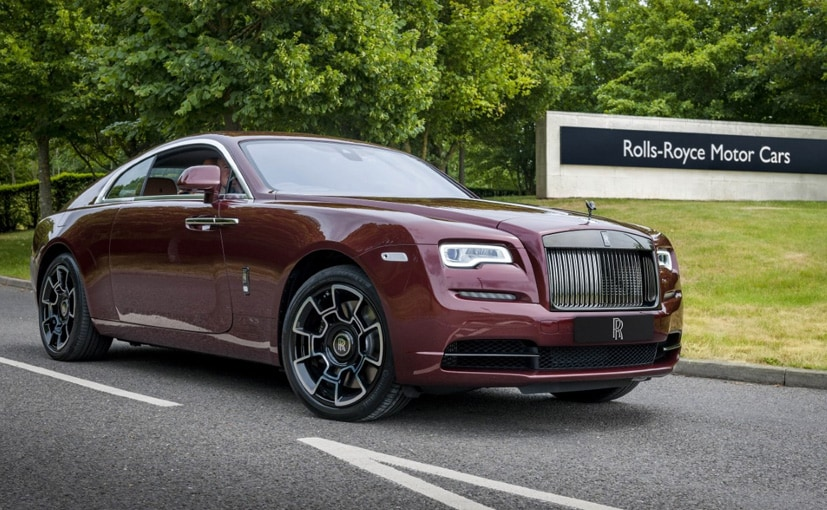 The first car to be handed over to a customer was a customised Rolls-Royce Wraith