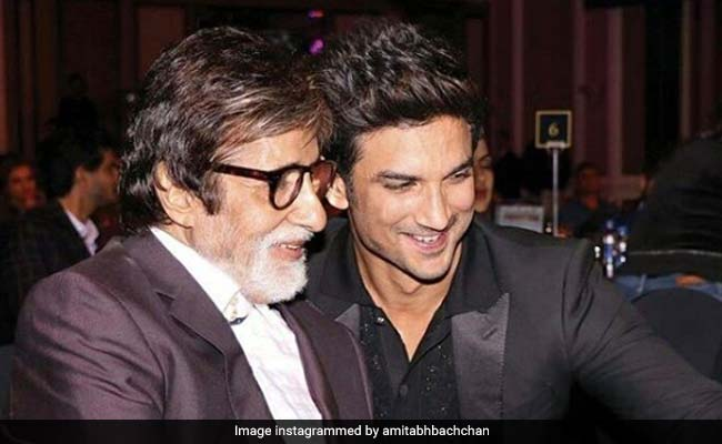 'Why,' Asks Amitabh Bachchan In Tribute To Sushant Singh Rajput