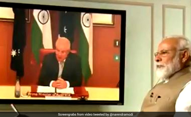 PM Modi's Virtual Summit With Australian Counterpart Elevated Ties: Envoy