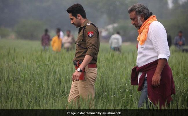 Here's How Ayushmann Khurrana Wished Article 15 Director Anubhav Sinha On His Birthday
