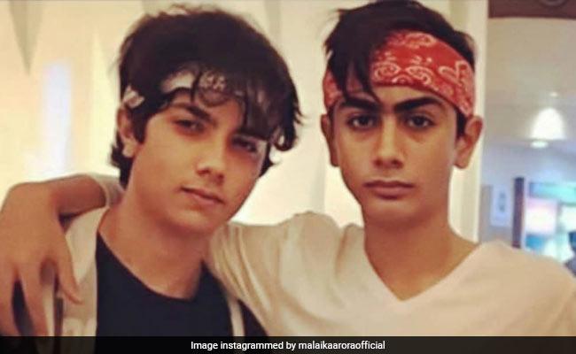 Malaika Arora Shares Throwback Pic Of 'Bandana Brothers' Arhaan And Nirvaan And It's Winning The Internet
