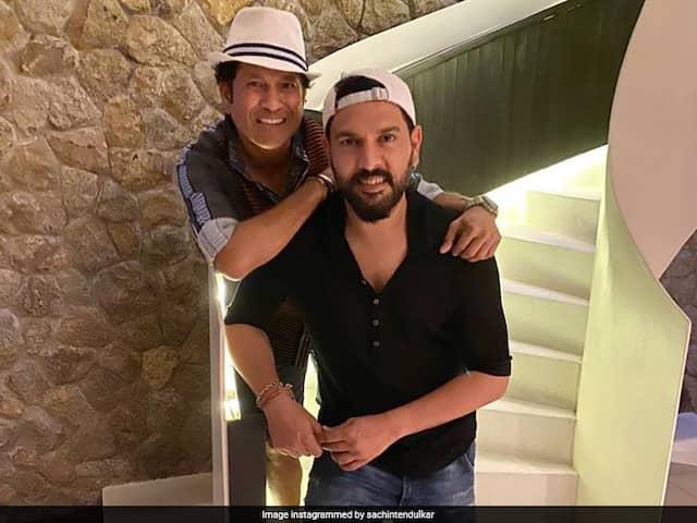 Sachin Tendulkar Share First Memory Of Yuvraj Singh on Twitter