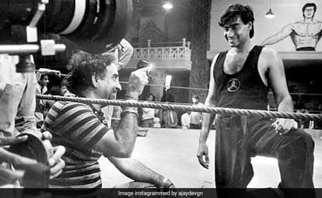 On Father's Day, Ajay Devgn's Emotional Tribute To Father Veeru Devgn