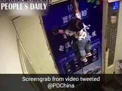Toddler Gets Dragged Up The Doors Of An Elevator In Horrifying Video