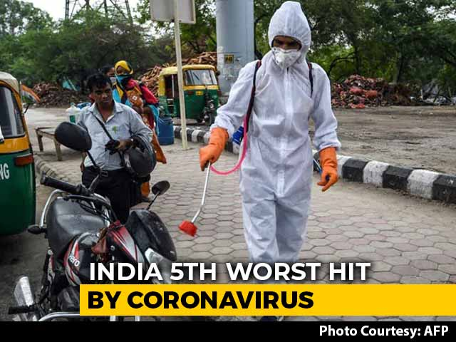 Video : India Overtakes Spain To Become 5th Worst Hit By Coronavirus