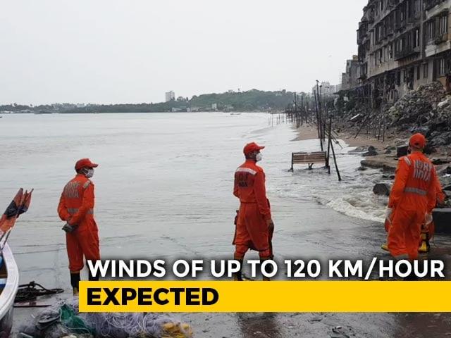 Video : Cyclone Nisarga To Hit Alibaug Near Mumbai Shortly
