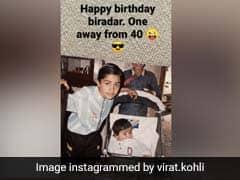 "Kohli Wishes ""Biradar"" Happy Birthday With Childhood Picture On Instagram"