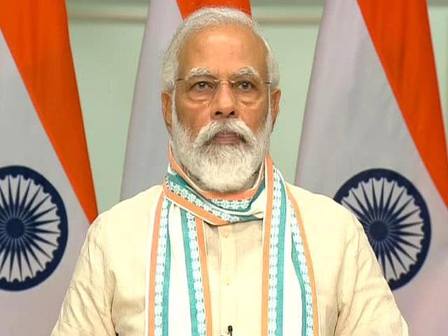 Video : PM Launches Jobs Scheme For Migrant Workers In UP