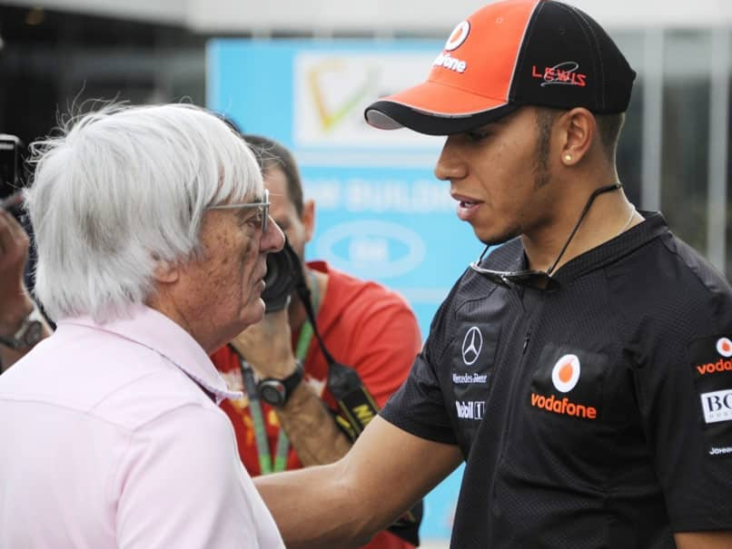 "Lewis Hamilton Blasts Bernie Ecclestone Over ""Black People Sometimes More Racist Than White"" Comment"