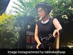 ताहिरा कश्यप को पसंद है साइकिल चलाना, Photo शेयर करते हुए कहा- ''इससे मैं खुद को मानसिक तौर पर...''