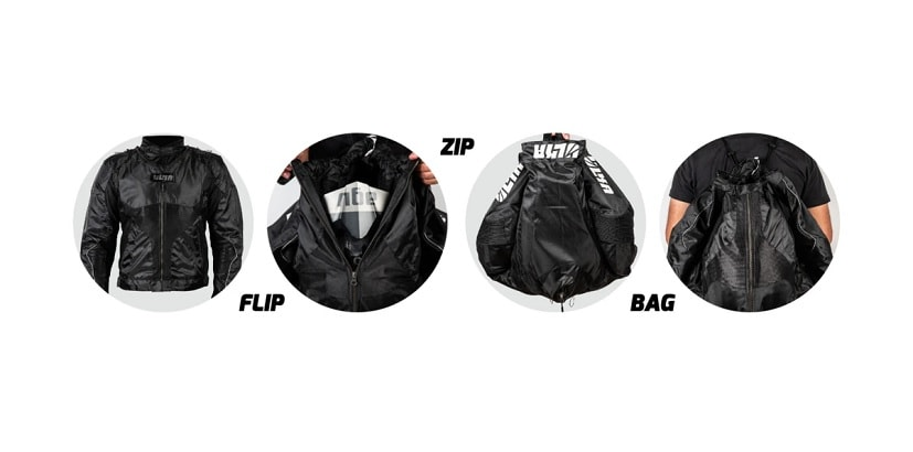 Ulka Gear Launches Riding Jackets That Can Be Converted Into A Backpacks