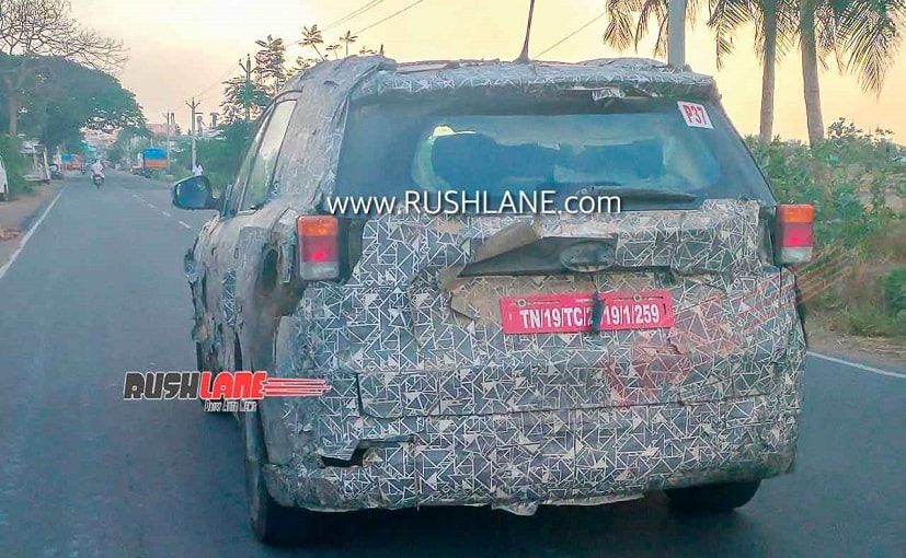 New-Gen Mahindra XUV500 is expected to be launched in India by 2021
