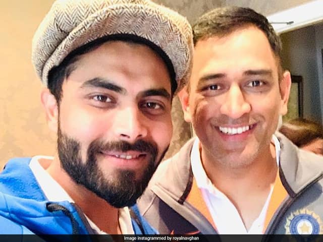 """Tumhari Nazron Mein..."": Ravindra Jadeja Turns Poet For ""Big Brother"" MS Dhoni"