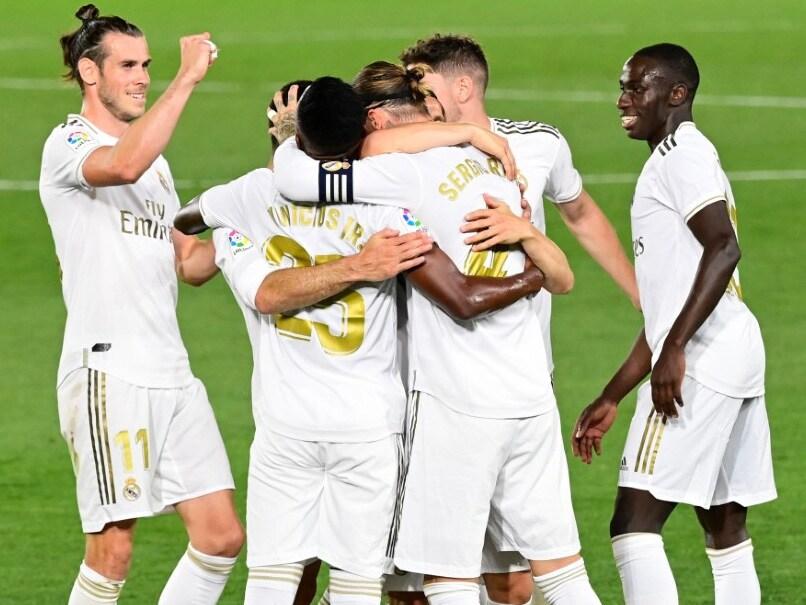 Sergio Ramos Free-Kick Sends Real Madrid Back To Top Of La Liga