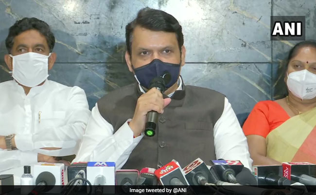 Around 1,000 COVID-19 Deaths Not Reported In Maharashtra: Devendra Fadnavis