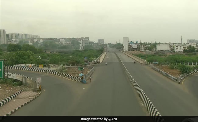 Chennai Comes To A Standstill On First Total 'Sunday Shutdown'
