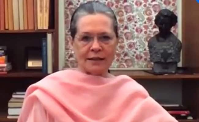 'Killed By Ruthless Government': Sonia Gandhi On Hathras Gang-Rape