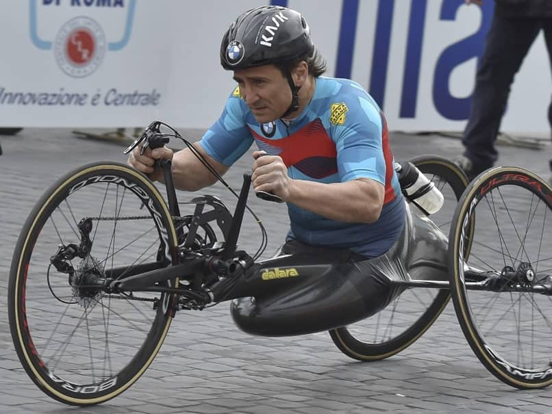 "Ex-F1 Driver Alex Zanardi In ""Extremely Serious Condition"" After Bike Crash"