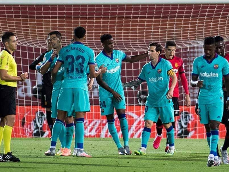 Lionel Messi Caps Barcelona Win Over Mallorca On La Liga Return