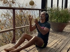 "Milind Soman Shows The ""Things You Can Do With A Melon Before You Eat It"""