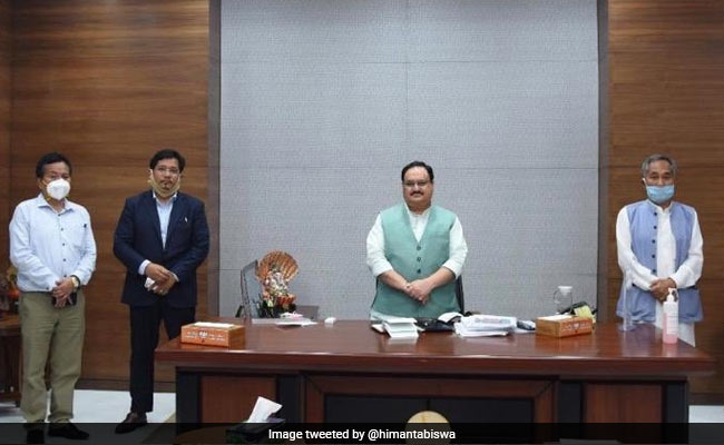 BJP Government To Remain In Manipur As Ally MLAs Return To Coalition