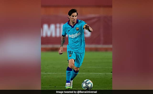 Twitter drools over Lionel Messi on first game back