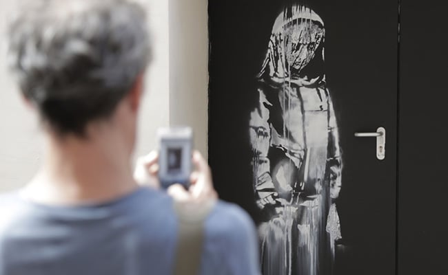 Banksy's Stolen Tribute To 2015 Paris Attack Victims Recovered In Italy