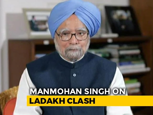 """Video : PM """"Must Be Mindful Of Implications Of Words"""": Manmohan Singh On Ladakh"""