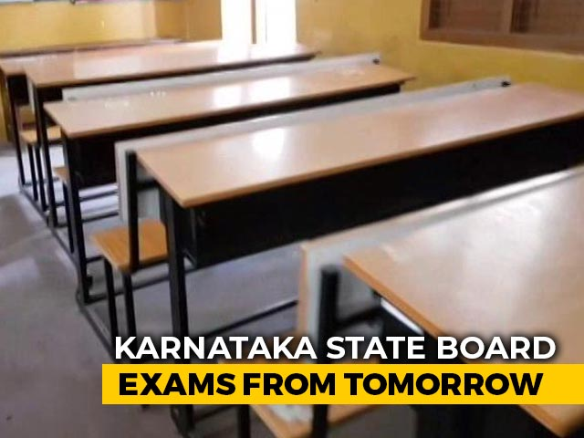 Video : Parents Worried As Over 8 Lakh Students To Appear For Karnataka Class 10 Exam From Tomorrow