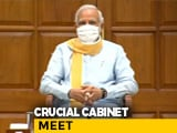 "Video : ""Historic Decisions"" Expected In Cabinet Meet Shortly: Government Sources"
