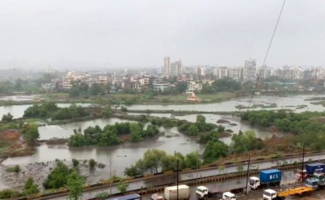 Heavy Rain In Mumbai, Spared Cyclone Nisarga's Fury A Day Ago