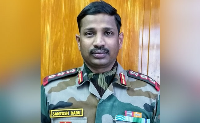 Galwan Hero Colonel Santosh Babu Awarded With Maha Vir Chakra