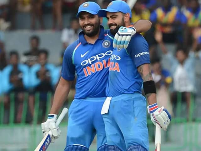 Virat Kohli, Rohit Sharma Continue To Dominate ICC ODI Rankings For Batsmen