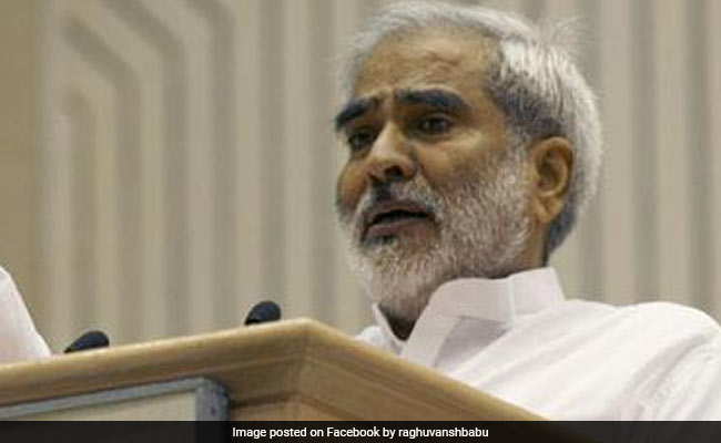 Raghuvansh Singh, Who Quit Lalu Yadav's Party Days Ago, Dies In Delhi - NDTV