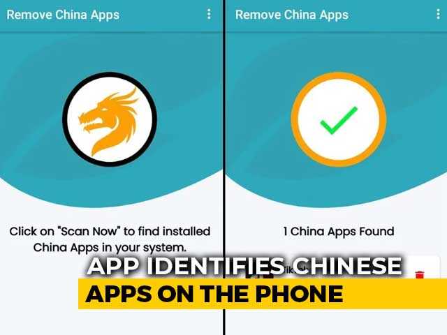 Video : This App Claims to Remove All Chinese Apps From Your Phone