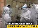 Video : Delhi Reports Over 1,500 Coronavirus Cases In Highest Single-Day Spike