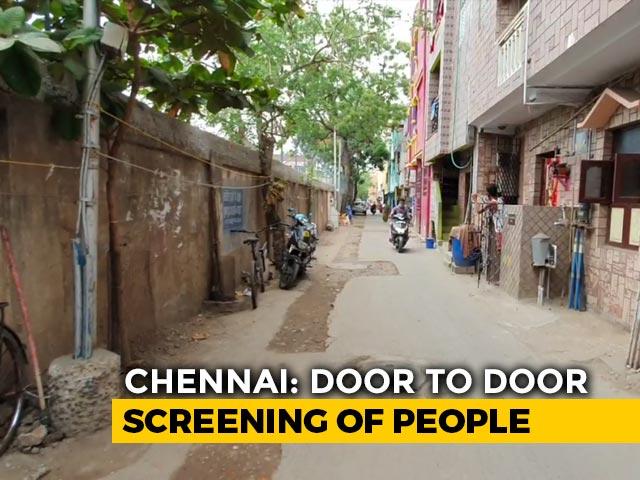 Video : No Mask, Social Distancing At Chennai's Coronavirus Hotspot Royapuram
