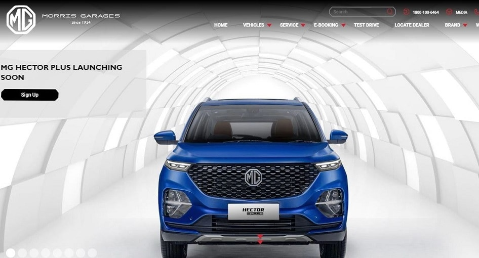MG Hector Plus Listed On Official Website Ahead Of India Launch