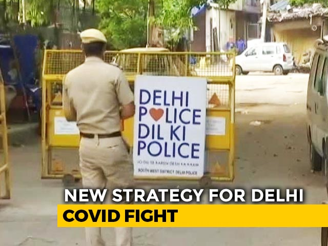 Video : Containment Zone Strategy To Be Revamped In Delhi