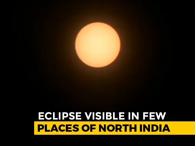 """Video : """"Ring Of Fire"""" Solar Eclipse Today"""