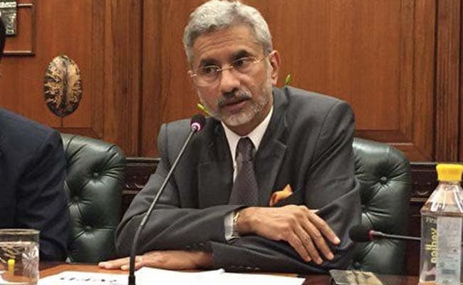 S Jaishankar To Headline India Global Week Summit Next Week