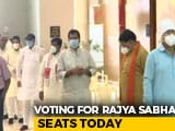 Video : Battle For Rajya Sabha Seats Today After Allegations, Resort Politics