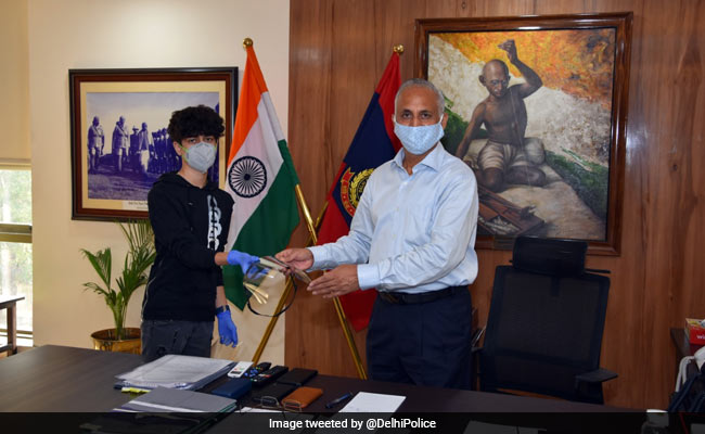 Delhi's Class 10 Student Makes Face Shields Using 3D Printer To Fight COVID-19