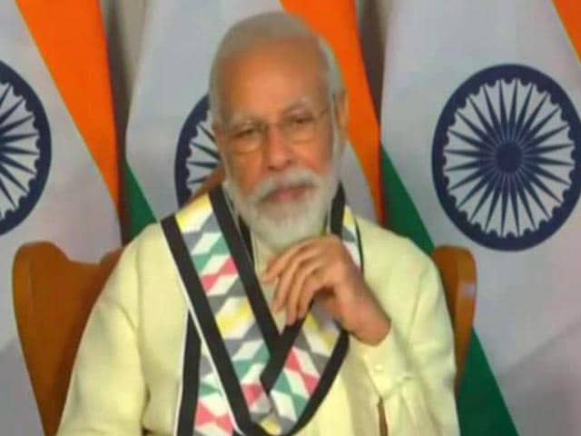 """Video : PM Stresses On """"Self-Reliant India"""" In Address To Industry Body"""