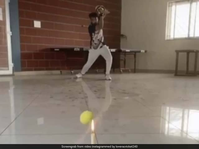 Watch: This Cricket Trick Shot Home Video Will Blow Your Mind