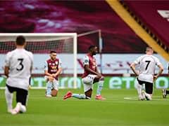 கால்பந்து Premier League மீண்டும் ஆரம்பித்தது: நிறவெறிக்கு எதிராக ஒன்றிணைந்த வீரர்கள்!