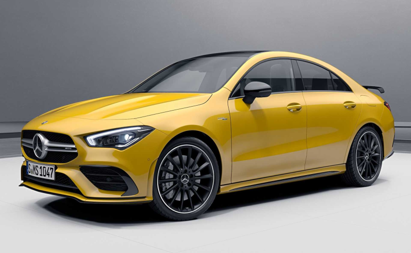 The new packages enhance the aerodynamics of the Mercedes-AMG CLA.